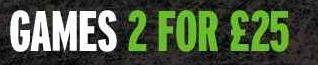 [Zavvi] UPDATE: 2 Games für 25 Pfund (30€)