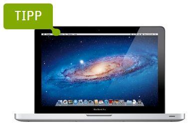 """[Gravis] Apple MacBook Pro 13"""" 2,4 GHz (4GB Ram, 500GB HDD) für 983,91€ inkl. Versand"""