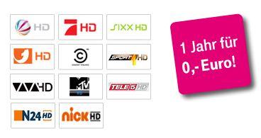 [Telekom] 1 Jahr kostenlos HD für alle Entertain Kunden!