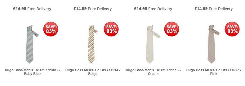 [the hut] Verschiedene HUGO BOSS Krawatten für je nur 19,15€ inkl. Versand (Vergleich: 50€)