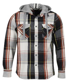[the hut] Ringspun Mens Griffin Check Long Sleeve Shirt für 16,75€ & French Connection 2 Pack T Shirts für 11,96€