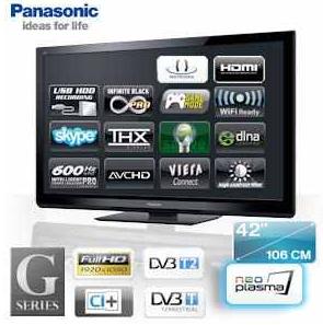 [iBOOD] NeoPlasma TV: 42er Panasonic 106 cm mit Full 1080HD und 0,001ms Reaktionszeit inkl. Versand 508,90€