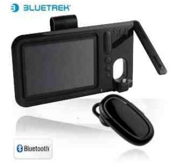 [iBOOD] Bluetooth Autofreisprech  einrichtung Ultra Slim für die Sonnenblende Bluetrek inkl. Lieferung 25,90€