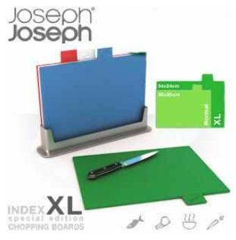 """[iBOOD] Schneidebrett Set mit 4 Brettchen: Joseph Joseph """"Index XL"""" Special Edition inkl. Versand 35,90€"""
