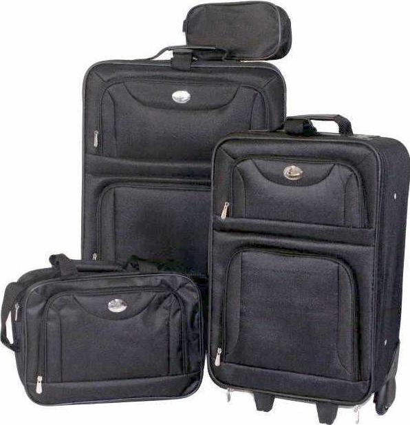 [eBay Wow] 4 teiliges Koffer Set: Trolley, Schultertasche, Kosmetiktasche inkl. Versand nur 29,99€