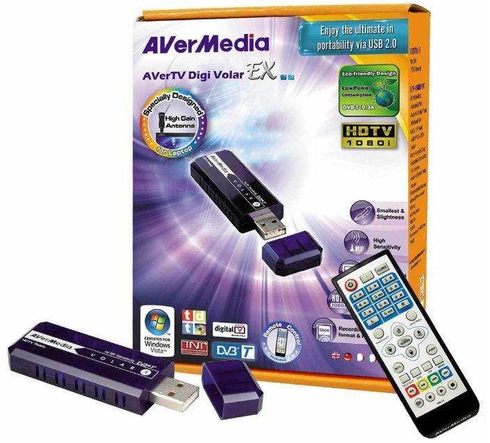 [Amazon] TV USB Stick: AVerMedia AVerTV, Digi Volar EX/ A815, inkl. Versand 21,50