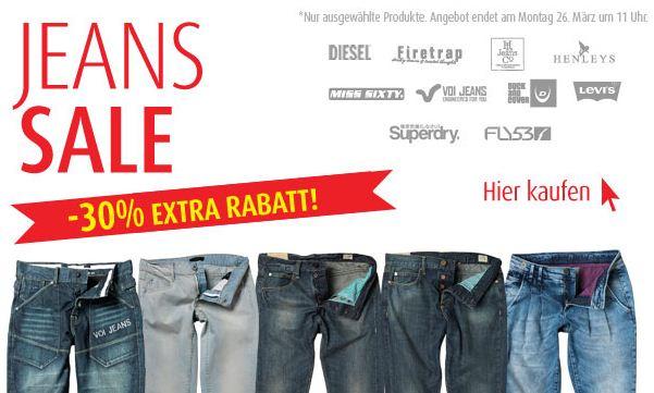 [MandMDirect] 30% Rabatt auf Jeans & T Shirts