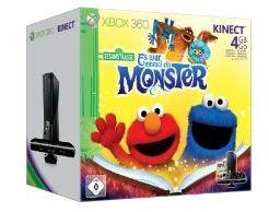 [Amazon] Xbox 360 4 GB inkl. Kinect Sensor + Sesamstraße + Mass Effect 3 für 209,97€ oder weiteres Angebot für 229,97€