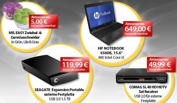 [meinpaket.de] OHAs zum Wochenende! Z.B. Seagate 1,5 TB HDD mit USB 3.0 für 113,40€
