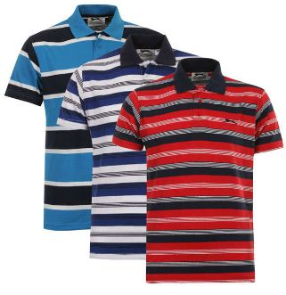 [the hut / Zavvi] 2er Pack Crosshatch Mens Malcome and Old School Tops für 16,79€ & 3er Pack Mens Slazenger Striped Polo Shirt für 19,20€