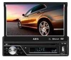 [Amazon] Touchscreen Autoradio: AEG AR 4026, DVD/CD, 7 LCD Display, SD Kartenslot, USB, inkl. Versand 159€