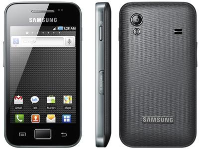 [UPDATE! Kommentare lesen!] Günstiges Android Handy: Samsung Galaxy Ace für nur 124,95€!