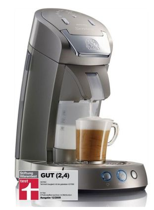[Cybersale] Philips HD7852/50 Senseo Latte Select Padautomat in titan silber für 129,90€ inkl. Versand