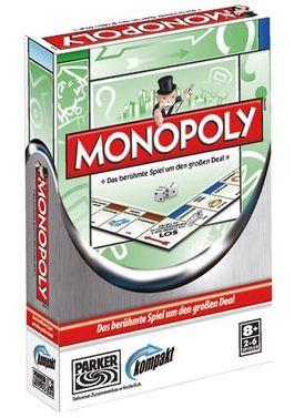 [Kaufhof Online] Spiel des Lebens Kompakt für 4,99€ & Monopoly Kompakt für 5,99€
