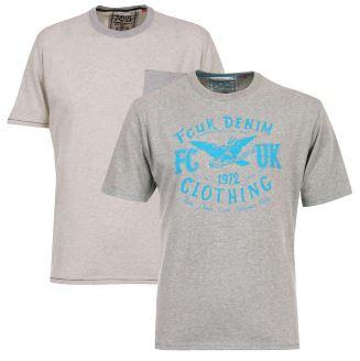 [Zavvi / the hut] 2er Pack French Connection T Shirts für 11,93€ & Kangol Mens Kev Buttoned V Neck Jumper für 16,71€