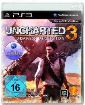 PS3 Game: Uncharted 3 – Drake's Deception nur 15€ bei MediaMarkt