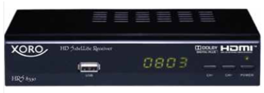 [ebay Wow] HDTV SAT Receiver Full HD: Xoro HRS 8530 inkl. Versand 44€
