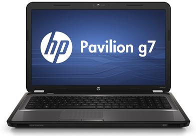 [ebay Wow] 17.3 Notebook: HP Pavilion g7, mit i5, 2.4 GHz und 4 GB Speicher, 500GB Festplatte, inkl. Versand 479€