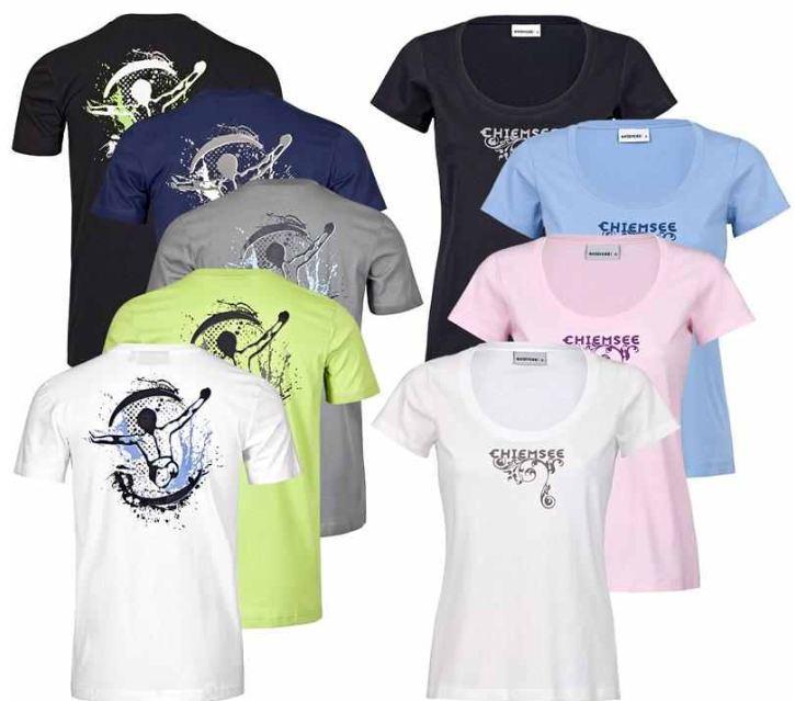 [ebay Wow] Herren und Damen T Shirt: Chiemsee in den Gr. von XS bis XXL, inkl. Versand 11,11€