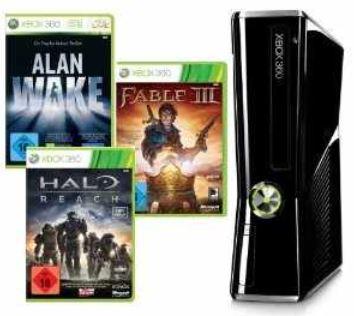 [Funzt wieder!] *PREISFEHLER?!* XBox 360 (250GB) + 7 Games nur 309€ (Vergleich: 445€)