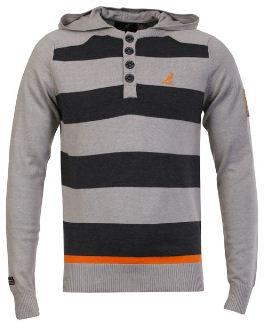 [Zavvi] Kangol Mens Manic Fine Gauge Hooded Knit Jumper & Jack and Jones Mens Dirt Sweater für je 16,80€ inkl. Lieferung