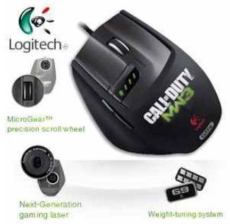 [UPDATE] Logitech Laser Mouse G9X: Made for Call of Duty Modern Warfare3  inkl. Versand 39,76€