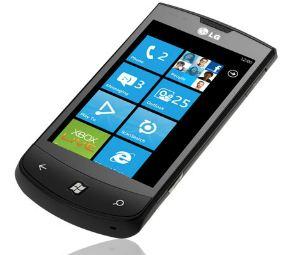 [ebay Wow] Smartphone: LG E900 Optimus mit Windows Phone 7, inkl. Versand 139,90€