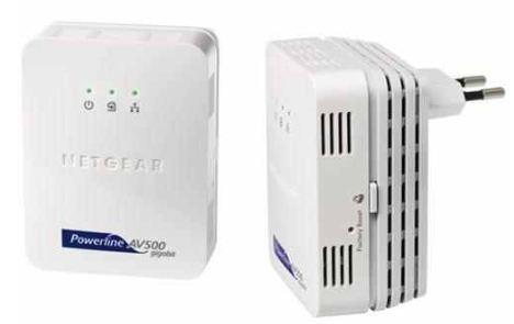 [Amazon] Netzwerkadapter Powerline: NetGear, 500 Mbit Adapter XAVB5001, inkl. Versand 57,59€