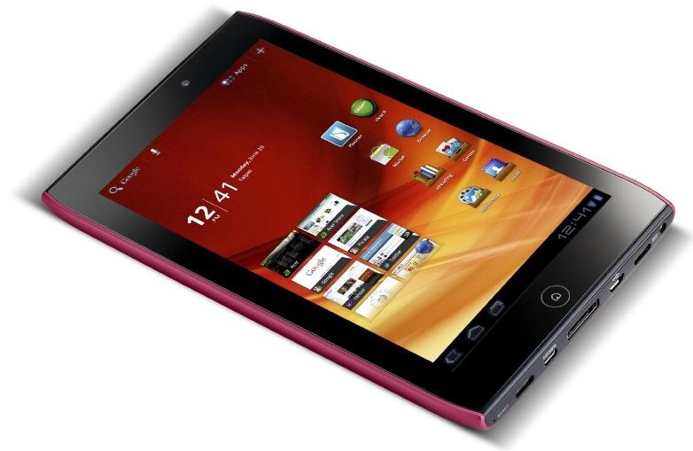 Acer Iconia Tab A100 – 7″ Android 4.0 Tablet mit Dual Core für nur 199€ (Preisvergleich 246€)