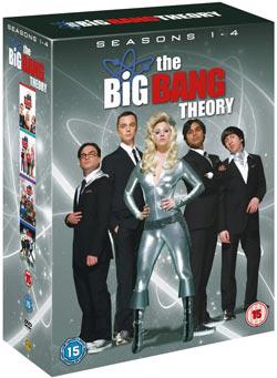 [Amazon UK] DVD Box: Big Bang Theory Season 1 4 (OT) inkl. Versand nur 29,47€
