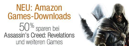 [Amazon] Neu: Amazon Games im Download, 1 Games kostenlos und bis zu 50% Rabatte auf Spiele.