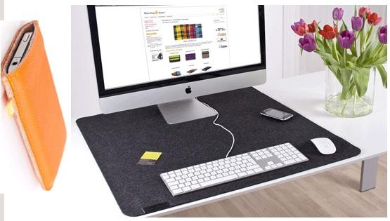 Günstige Deskpads oder iPad/iPhone Hüllen von Burning Love durch 25€ Flavs Gutschein