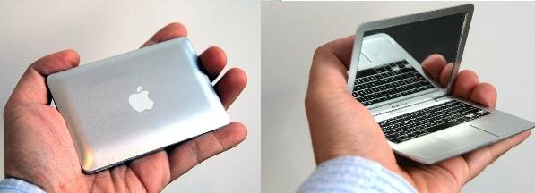[Gadget!] Schminkspiegel im Macbook Air Format für 4€ inkl. Lieferung