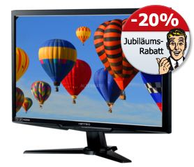 [Alternate] HannsG HS233H3B TFT (3D, DVI D, HDMI) für 138,85€ inkl. Versand (Vergleich: 170€)