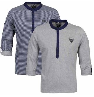 [the hut] Smith & Jones Mens Chino Shorts für 20,69€ & Ringspun 2er Pack Long Sleeve für 17,99€
