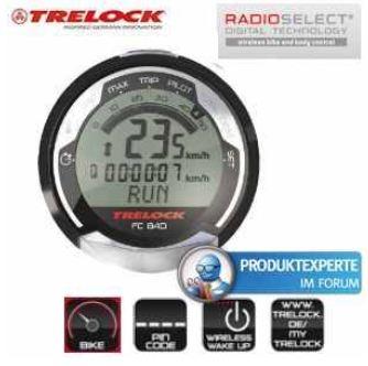 [iBOOD] Fahrradcomputer: Trelock COCKPIT FC 840, kabellos, inkl. Versand 25,90€