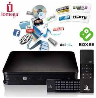 [iBOOD] HD media & streaming Player: Iomega TV mit Boxee und 2 TB, inkl. Versand 255,90€