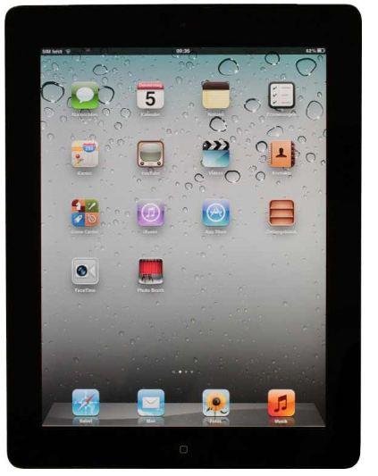 Apple iPad 2 16GB WiFi schwarz  inkl. Versand 333€