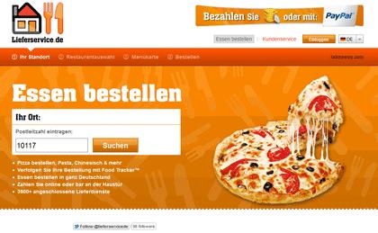 [Lieferservice.de] Neuer code! 25%€ Gutschein für Neu  und Bestandskunden!