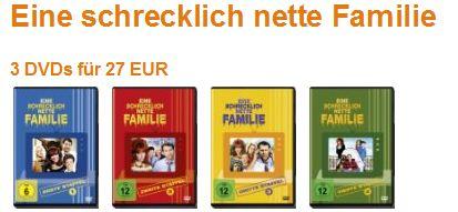 [Amazon] Kult! Eine schrecklich nette Familie   3 Staffeln nach Wahl für 27€ inkl. Versand