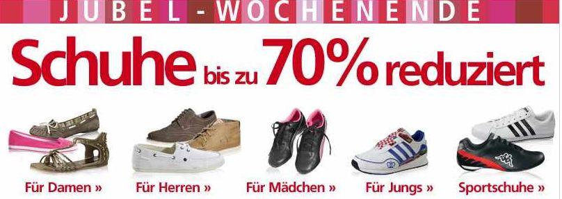 [Neckermann] Schuhalarm am Wochenende: bis zu 70% reduziert!