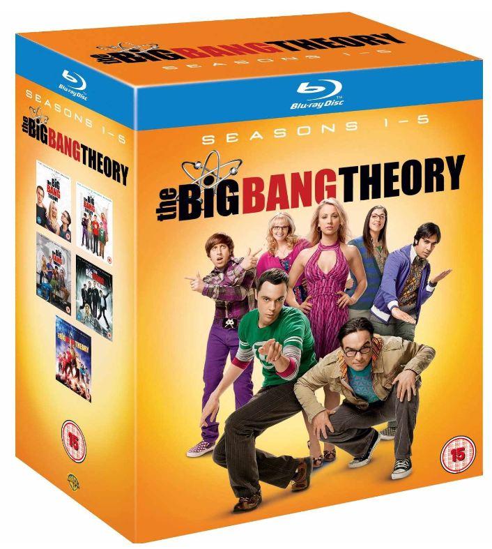 Big Bang Theory, Staffel 1   5 (OT) auf Blu ray, für 37,70€