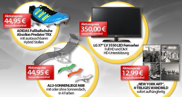 [meinpaket.de] Die OHAs zum Wochenende! Z.B. LG 37 LV 3550 für 350€ (Vergleich: 410€)