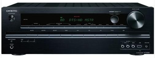 [Cyberport] Onkyo HT R558 AV Receiver USB, 3D ready, HDMI, Raumeinmessung, Dynamic Volume, inkl. Versand 149€