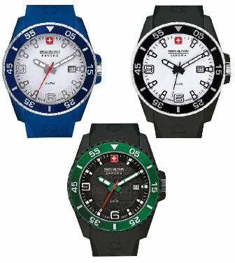 [ebay] Swiss Military Hanowa Uhren: Typ Ranger   3 Modelle, inkl. Versand je 39,99€