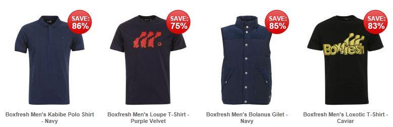 [the hut] Boxfresh: verschiedene Hemden & T Shirts ab nur 6,05€ zzgl. Versand