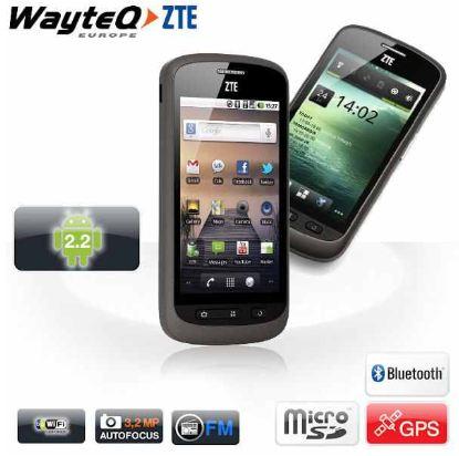 [Amazon] Android Smartphone: WayteQ ZTE   Libra  mit 800x480 multi touchscreen inkl. Versand 109,90€