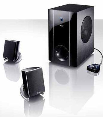 [ebay] 2.1 Set PC/Multimedia Set: Teufel Concept C 200 mit integrierter Soundkarte inkl. Versand  149,99€