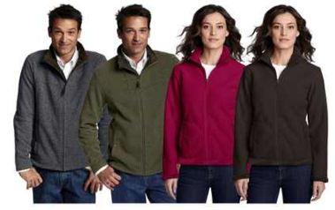[ebay Wow] Damen & Herren Fleece Jacke: LANDS END in 6 verschiedenen Farben inkl. Versand 19,95€