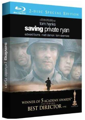 [Zavvi] Blu ray Box: Der Soldat James Ryan, inkl. Versand 10,49€
